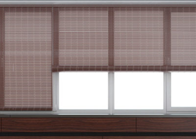 WOVEN WOOD OR BAMBOO BLINDS-1